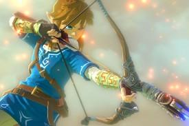 Zelda y arco